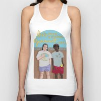 pulp Tank Tops featuring Pulp Fiction by Vannia Palacio