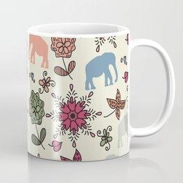 Elephants pattern #55 Coffee Mug