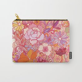 Detailed summer floral pattern Carry-All Pouch
