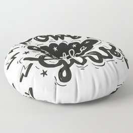 Power to the Girls Floor Pillow