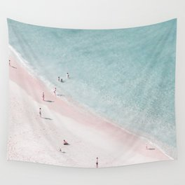 beach family love Wall Tapestry