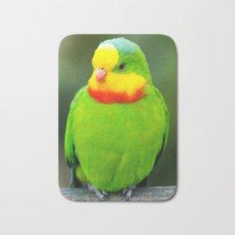 Superb Parrot Bath Mat