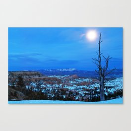 Bryce Blue Canvas Print