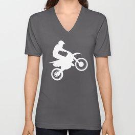 Motocross Unisex V-Neck