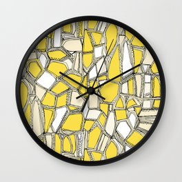 BROKEN POP lemon Wall Clock