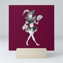 Fancy Jester Mini Art Print