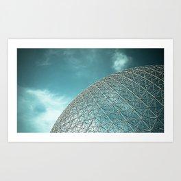 Biosphère Art Print
