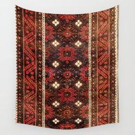 Belouch  Antique Khorasan Northeast Persian Rug Print Wall Tapestry