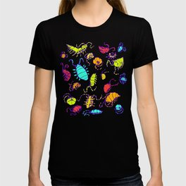 Pill Bugs Candy Black Shirt T-shirt