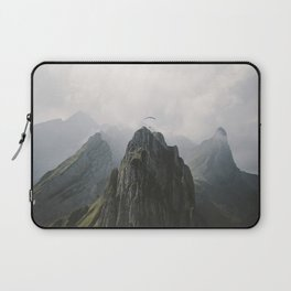 Flying Mountain Explorer - Landscape Photography Laptop Sleeve