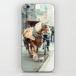 Montreal Taxi iPhone Skin
