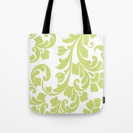 Calyx Damask Tote Bag