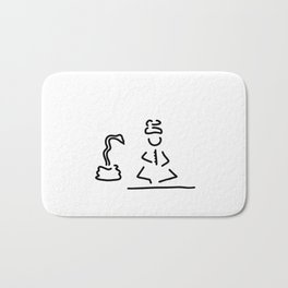 Indian India snake-charmer Bath Mat