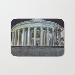 Jefferson Memorial - Side View Bath Mat
