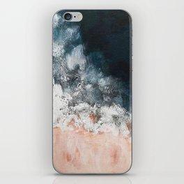Aerial ocean, coast,  beach, waves, sea, prints, project iPhone Skin