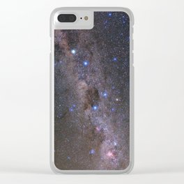 Milky Way in Chile 2 Clear iPhone Case
