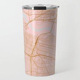 Sacramento map, California Travel Mug