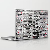 u2 Laptop & iPad Skins featuring Opportunistic Species (P/D3 Glitch Collage Studies) by Wayne Edson Bryan