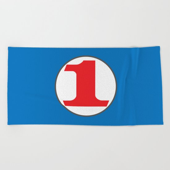 Number ONE Beach Towel