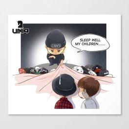 Kpop UNIQ Wang Yibo  BD-03 Canvas Print