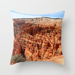 Bryce Canyon View At Sunset Point Throw Pillow