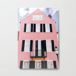Charleston Pink VII Metal Print