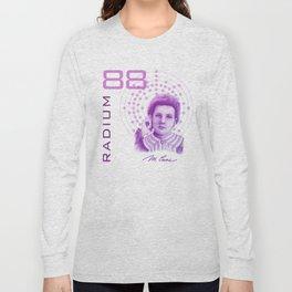 Marie Curie, Breaker of Gender Stereotype in Science Long Sleeve T-shirt