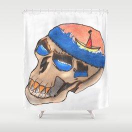 Sea-risk Shower Curtain