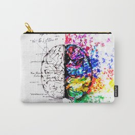 Conjoined Dichotomy Carry-All Pouch