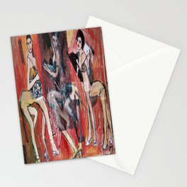SEXY CENTAUR TRIO Stationery Cards