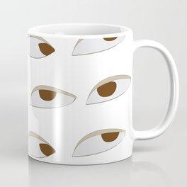 side eyes Coffee Mug