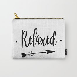 Relaxed Lettering-PM coll Carry-All Pouch