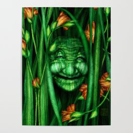 Lilly – Nature Spirit Poster