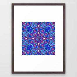 Rather be blue Framed Art Print