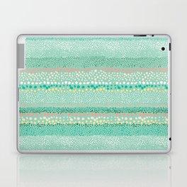 Little Textured Dots Greeen Laptop & iPad Skin
