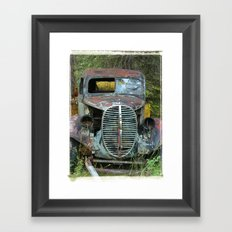 OldTruck Framed Art Print