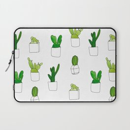 Friendly family of succulents Laptop Sleeve