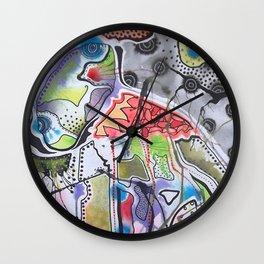 Weird Creature Wall Clock