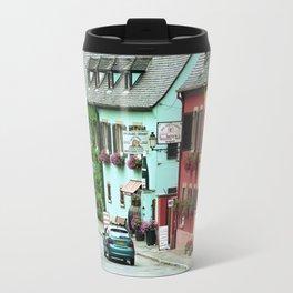 Pastel Town : Alsace Travel Mug