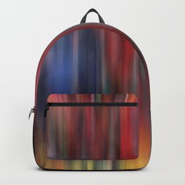 Blurred Watercolor Pattern Backpack