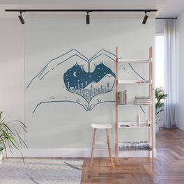 Love Nature Wall Mural