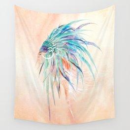 Sauriel Tribal Mermaid Wall Tapestry