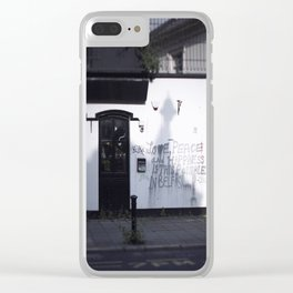Dream of Peace Clear iPhone Case