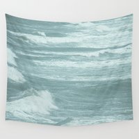 into the wild Wall Tapestries featuring Wild by SuzanneCarter