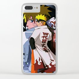 The seventh Hokage Clear iPhone Case