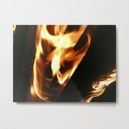Filter Flames Metal Print