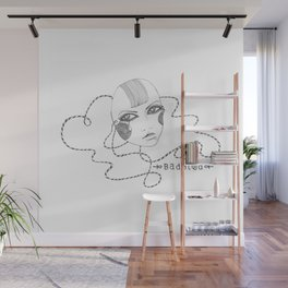 Doll Face Wall Mural