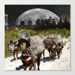 Black Women Are The Mules Of The Earth - Zora Neale Hurston Canvas Print