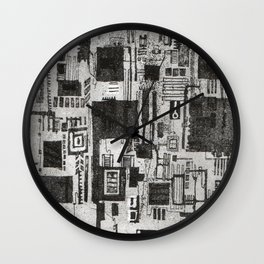 There's a world going on underground Wall Clock