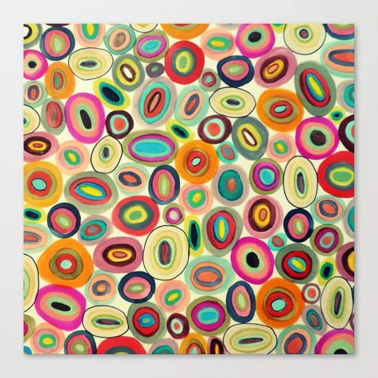 running in circles Canvas Print